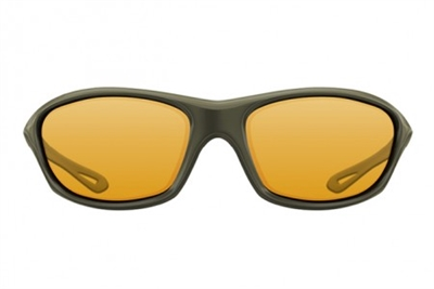 Korda Sunglasses Wraps Gloss Olive yellow Lens
