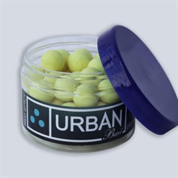 Urban Bait Red Spicy Fish Pop Ups 12mm washed yell