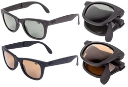 Nash Foldable Sunglasses amber Lens
